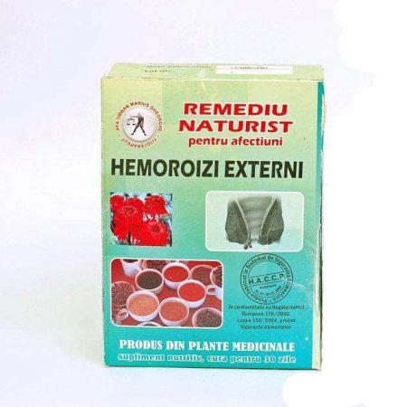 Tratament naturist pentru Hemoroizi Externi